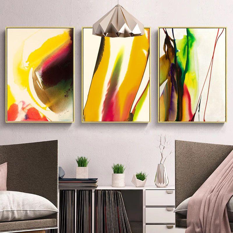Großhandel Moderne Minimalistische Wohnzimmer Wand Gemälde Galerie,  Abstrakte Arbeitszimmer, Schlafzimmer, Klein Und Frisch, Europäischen  Amerikanischen ...
