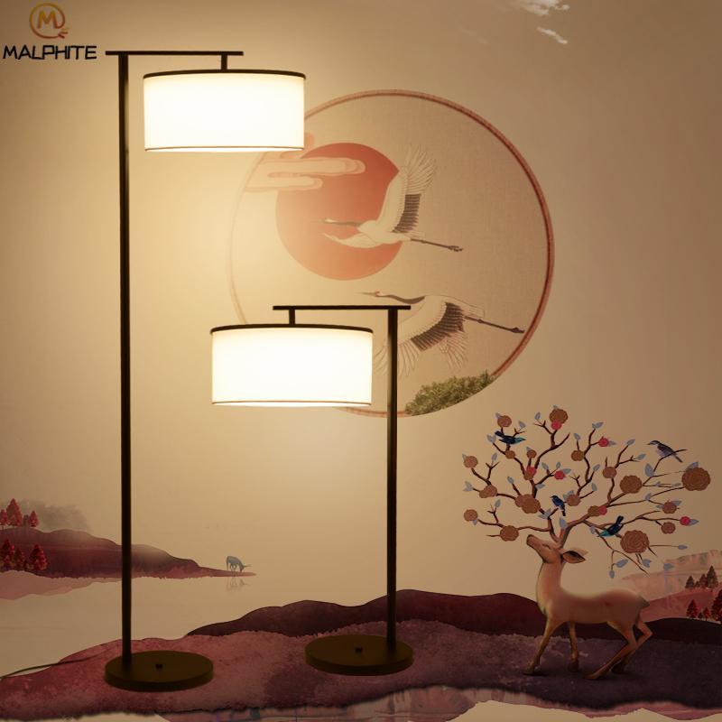 Grosshandel Neue Chinesische Stehlampe Dekorative Schlafzimmer