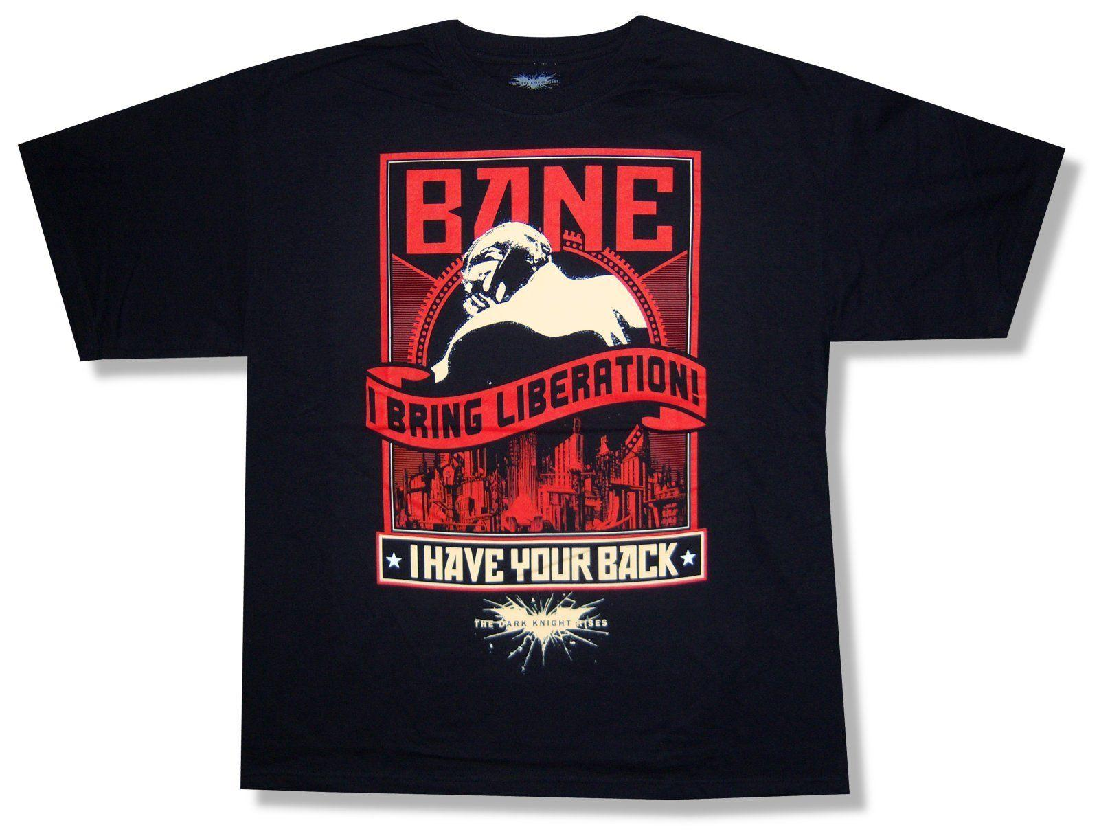 4cf598e32 THE DARK KNIGHT RISES LIBERATION BANE BLACK T SHIRT NEW ADULT OFFICIAL BATMAN  Tee S It T Shirts From Waratshirt, $13.19| DHgate.Com