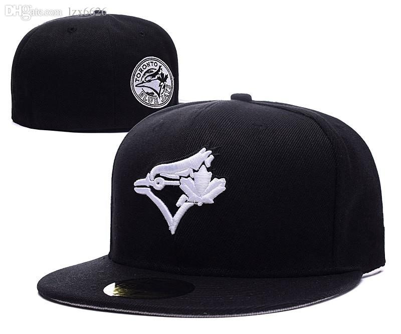 Best Selling Full Black Color Men S Toronto Black Baseball Fitted Hats  Sport Team Logo Embroidered Full Closed Caps Out Door Fashion Bo Cap Hat  From Lzx6626 ... c6e5db7db53