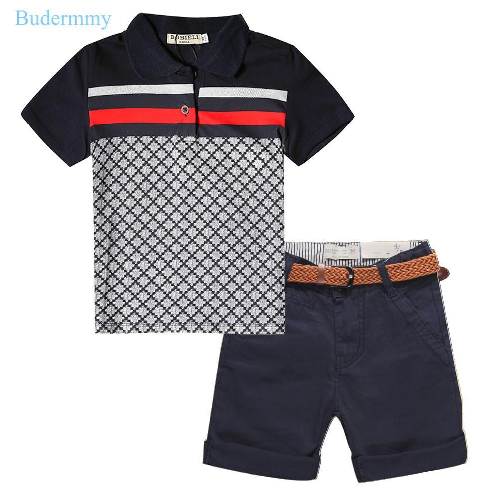 Compre Conjuntos De Meninos Menino Camisetas Meninos Shorts Algodão Treino  Calças Esportivas Conjunto De Crianças Para 2 3 4 5 6 7 Anos Da Criança  Meninos ... 46326d60ea246