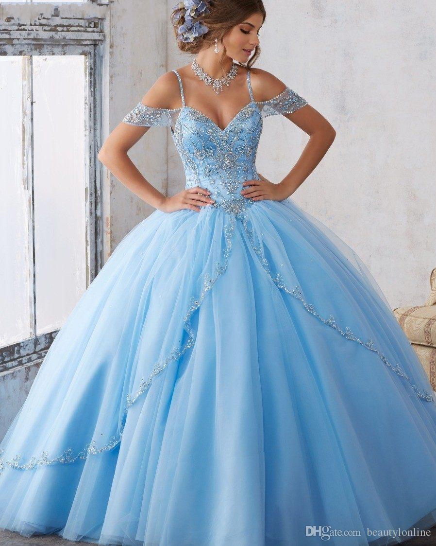 Vestidos De 15 Anos Debutante Gowns Sweet Ball Gowns Cinderella ...