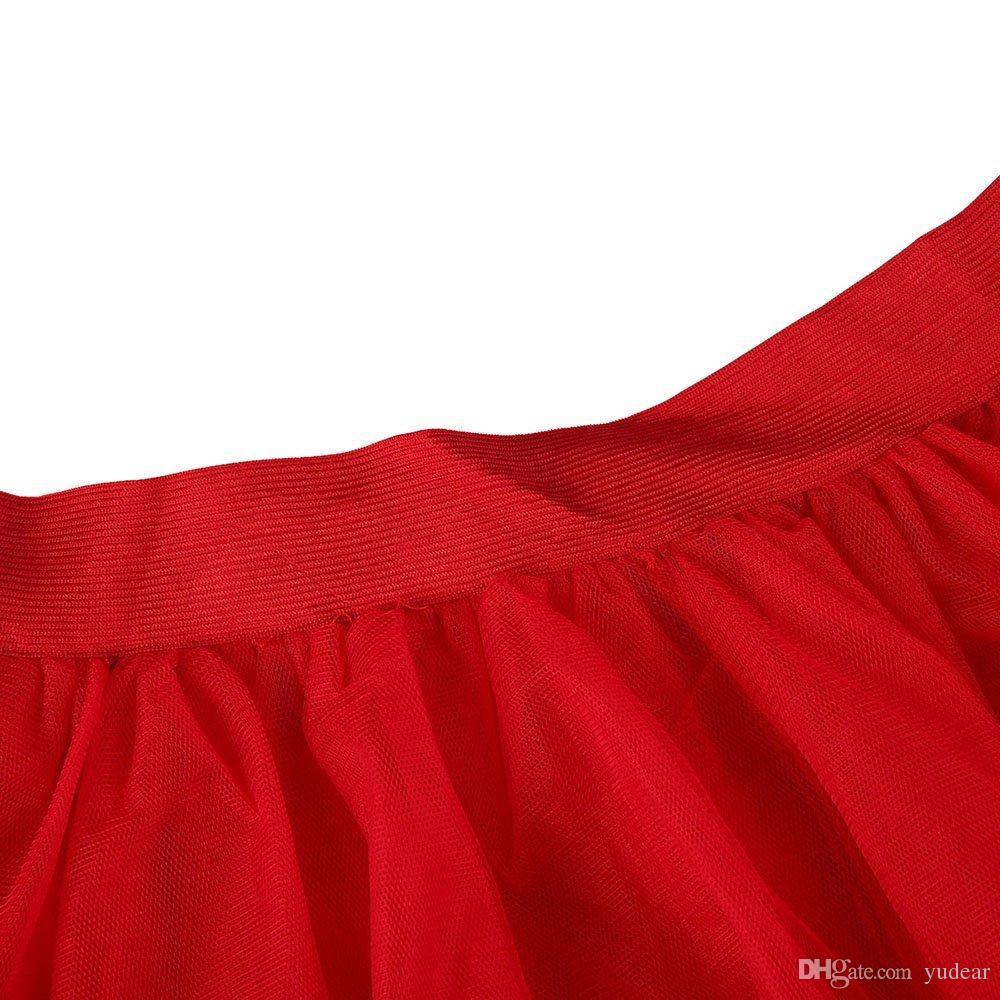 2019 جديد وصول vintagetulle مرحبا لو المرأة التنورة الخصر توتو الأميرة الزفاف التنانير سستة تنورة قصيرة للنساء النساء الملابس