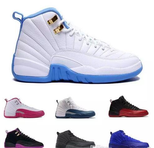d4bebd030b22 Newest 12 Mens Basketball Shoes Wool Mens Sneaker Black Nylon Blue Suede Discount  Shoes Flu Game French Blue Sport Shoes Online Sports Shoes Online Jordans  ...