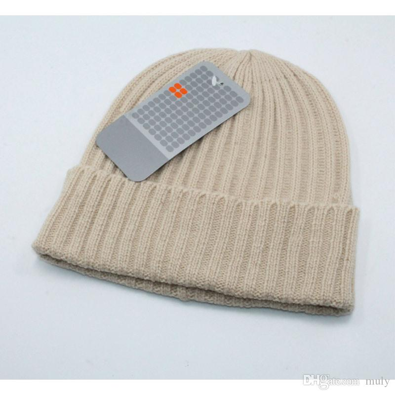 779a96a6ff4 Hats Designer Hats Beanie Hats Knitted Hat Hot Style European American  Famous Hat Fashion Reverse Side Winter Hat Men Women Casquette.
