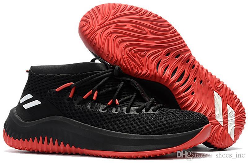 Cheap Basketball Shoes Sneakers D Lillard 4 Dame 4 Rip City White Un-Dyed Signature Men Man Sports China Brand Shoe Size 7-12
