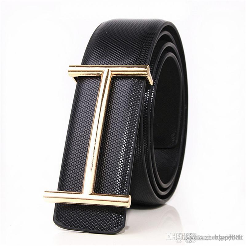 1bc001529c5ec 2017 Hot Sale Luxury Buckle Belt Mens Smooth Buckle Leather Belts Male High  Quality Designer Brand Ceinture Mens Luxury Belt Jeans 32 40inch Waist Belt  V ...