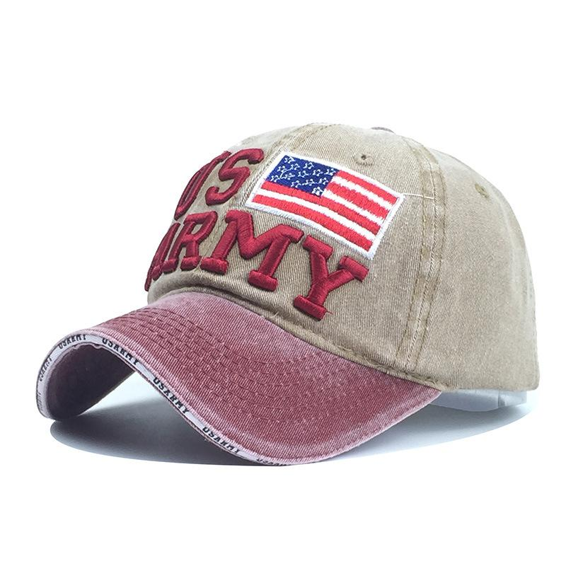 America Baseball Cap Men Dad Hat For Women Autumn And Winter Sports Brand  Full Cap Bend Visor Male Bones Fitted Baseball Hat Baseball Caps For Women  Caps ... 5046e085cb