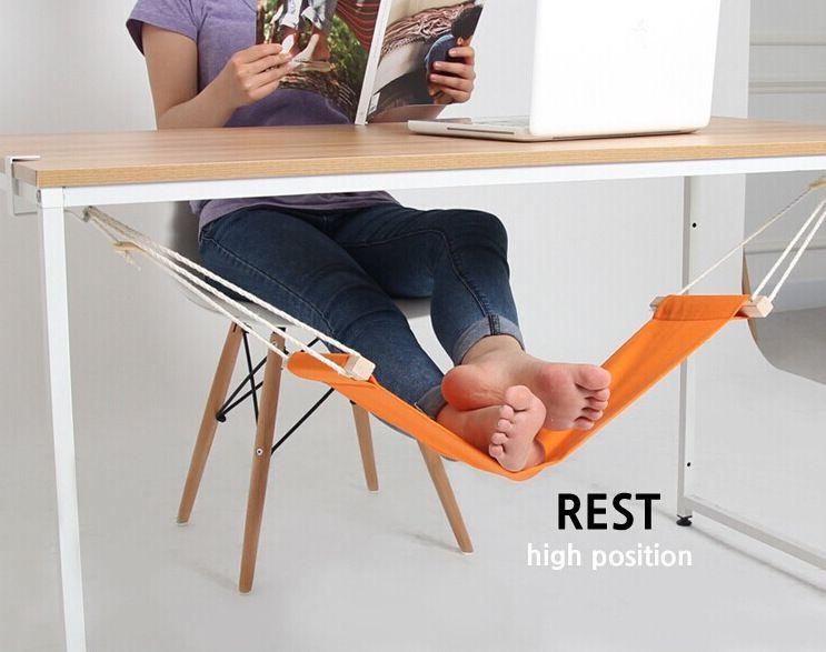Acheter mini pied repose pieds bureau pieds hamac facile À