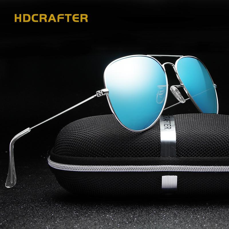 252d0d1cc7219 2018 Classics Sunglasses Men Women Retro Polarized Mirror HD Sunglasses  Casual Summer Shades Male Eyewear Oculos De Sol Suncloud Sunglasses Foster  Grant ...