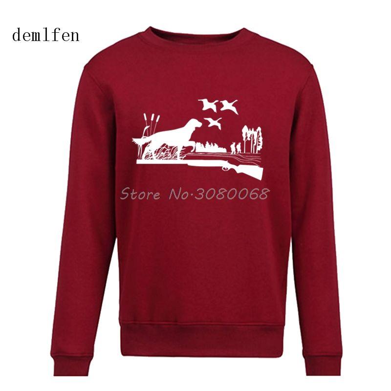 da0cd974ef9 2019 Men s Spring Autumn Fashion Hoodies New Design Sportsman Hunt Fish  Deer Fish Gun Print Hoodie Brand Clothing Cool Sweatshirt From Clothfirst