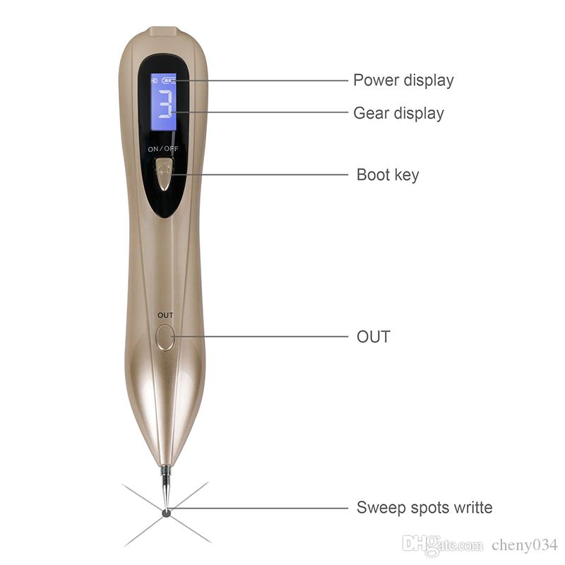 Portable Laser Spot Removal Pen Beauty Health Freckle Removal Mole Pen Household Beauty Care Tools