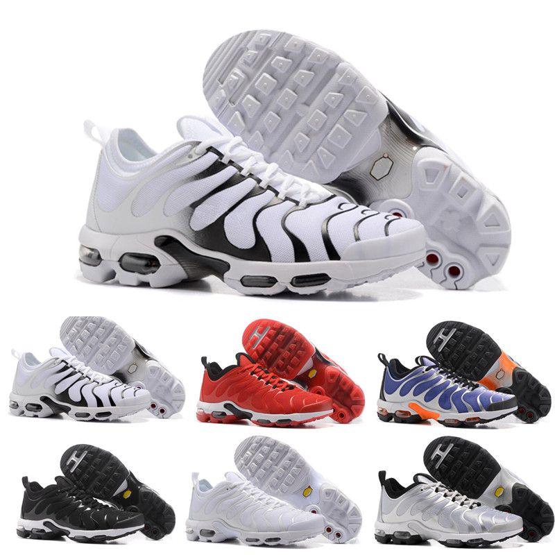 check out bfc22 dead8 Compre Nuevo TN Plus Zapatillas Para Correr Classic Outdoor Run Zapatillas  Vapor Tn Negro Blanco Sport Shock Sneakers Men Requin Olive Silver In  Metallic A ...