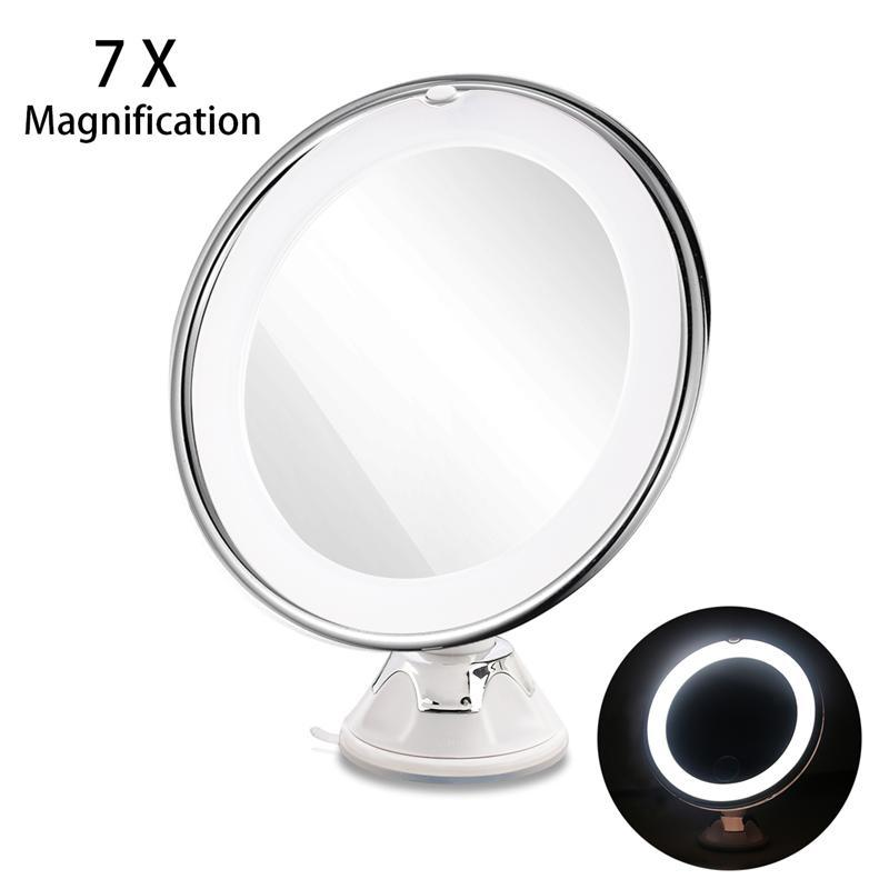 Ruimio New Package 7x Magnifying Mirrors Makeup Mirror With Power