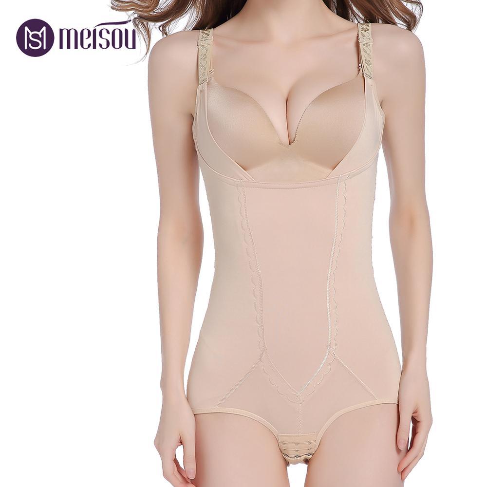 c4d5250801c 2019 Slimming Body Shaper Underwear Shapewear Bodysuits Women Lingerie  Waist Trainer Hot Shaper Slimming Underwear Bodysuit From Duanhu