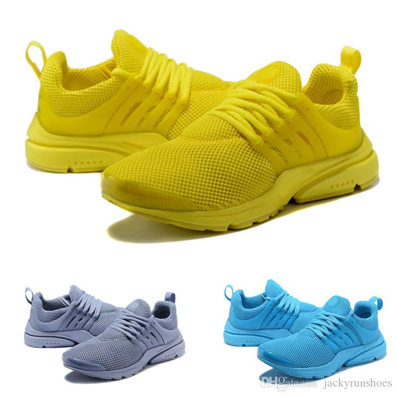 b847b1bd2a31fb 2019 Hot Presto 5 Ultra BR QS Black White All Yellow Running Shoes For Women  Men Prestos V Casual Sports Sneakers Trainers 36 46 Men Shoes On Sale Shoes  ...