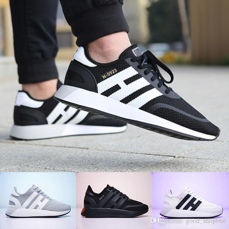 brand new 3b43d 18279 Compre 2018 Descuento En La Venta Iniki Runner Running Shoes Real Calidad  Superior Original Iniki Runner Hombres Womens Trainers Sports Sneakers  Talla 36 45 ...