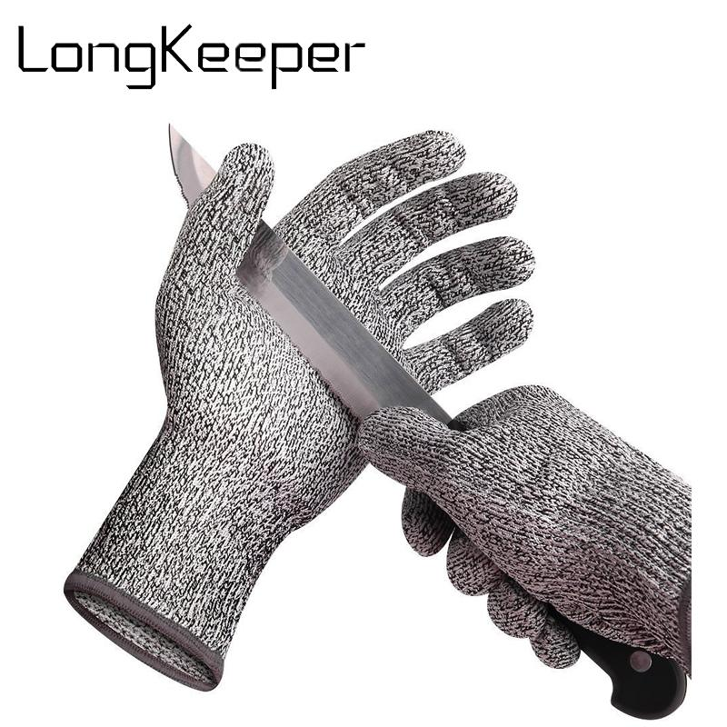 Cut Resistant Gloves Anti-cutting Breathable Work Gloves Kitchen Level 5  Protection Grade luva feminina