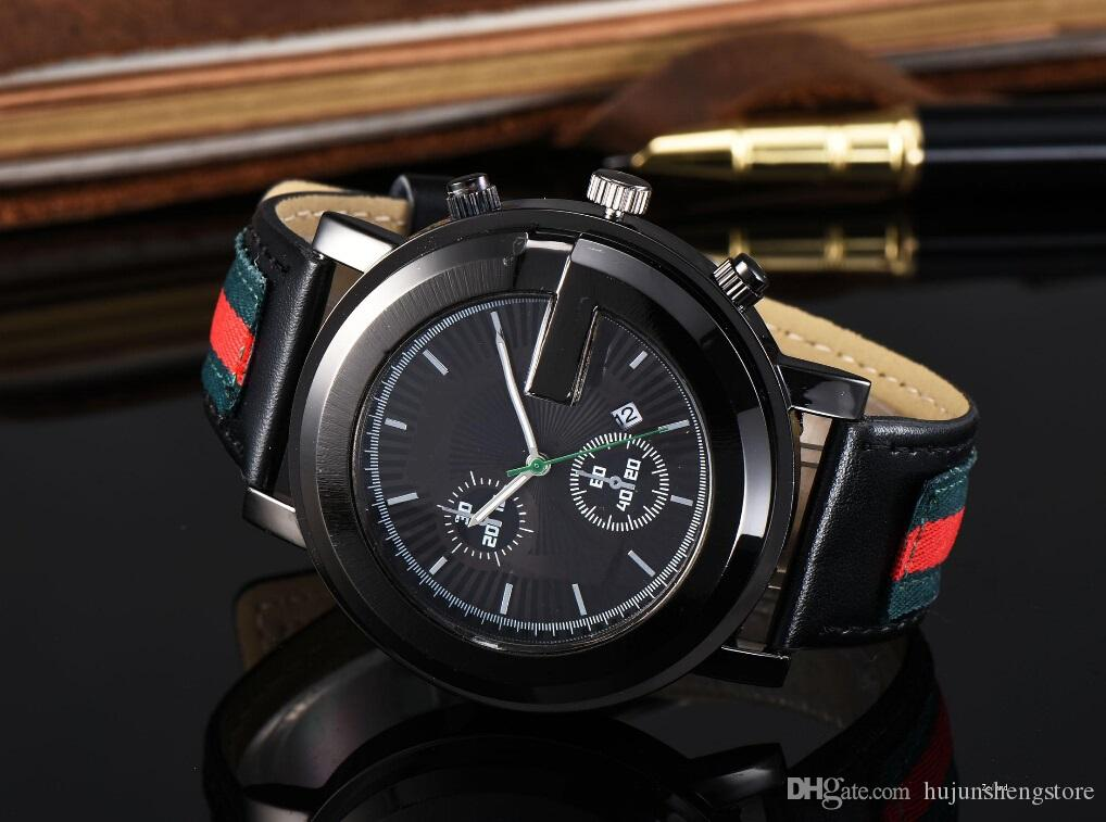 Marque Dames Montre Hommes Bracelet En Cuir Casual Amoureux Femmes Montres Horloge Quartz Vintage Montre-Bracelet Reloj Mujer Relogio