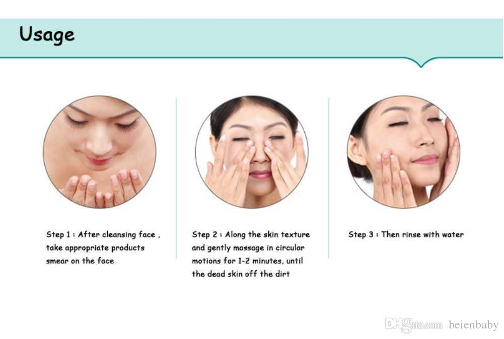 At home facial cleansing
