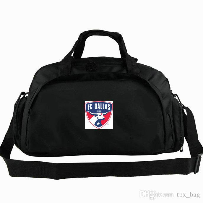 133fd8a226 Dallas Duffel Bag FC Burn Tote USA League Football Club Backpack Soccer Team  Badge Luggage Sport Shoulder Duffle Outdoor Sling Pack Over The Shoulder  Bags ...