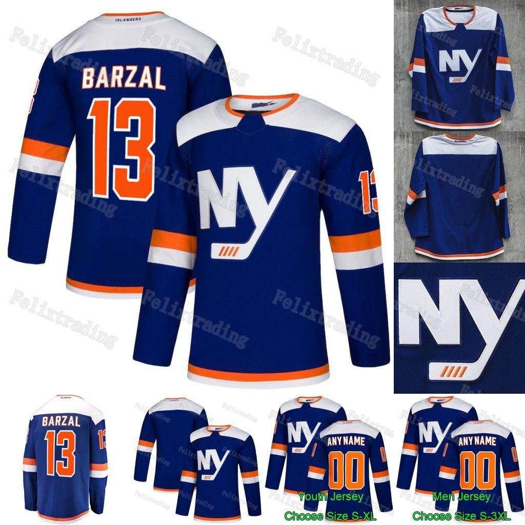 reputable site 199ab 470f4 2019 Third New York Islanders Mathew Barzal Leo Komarov Josh Bailey Josh  Ho-Sang Tom Kuhnhackl Sebastian Aho Matt Martin Ryan Pulock Jersey