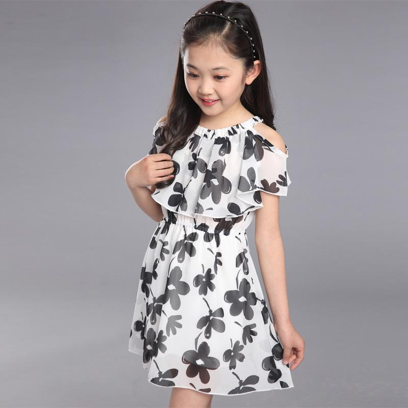 2018 Baby Girls Dress Summer 2018 Fashion Children Clothing Kids ...