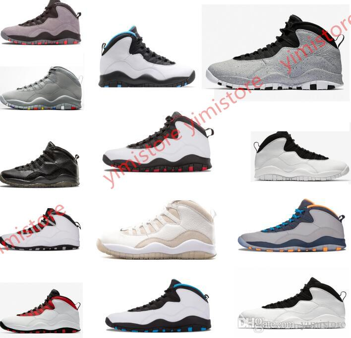 060f26b31e29 Cement Westbrook X I M Back 10 10s Men Basketball Bobcats Chicago Cool Grey  Powder Blue Steel Grey Black White Shoes Sport Sneakers 41 47 Girls  Basketball ...