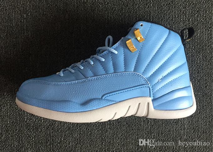 Scarpe da basket New 12s Wheat Mens Scarpe da ginnastica blu francesi Gym rosso Wolf Grey outdoor XII 12 calzature sportive da atletica taglia 41-47