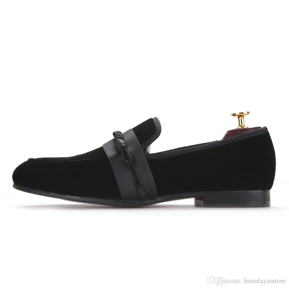 new men velvet shoes with handmade weaving rope Party and wedding men dress shoes men slipper loafers male flats