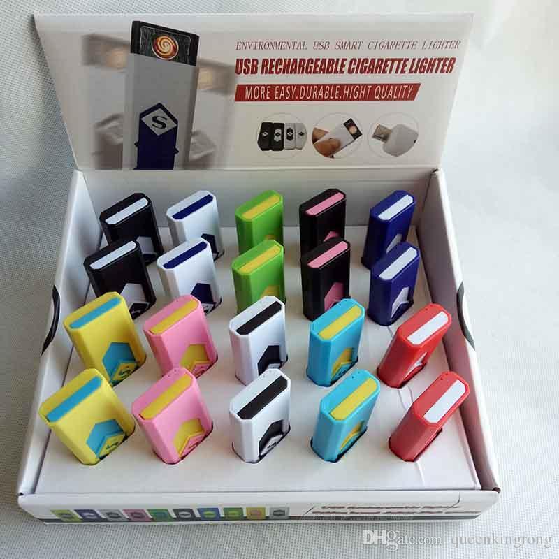 Cigarro eletrônico recarregável usb isqueiro de charuto com display também oferecem isqueiros de gás de tocha de arco acessórios para fumar