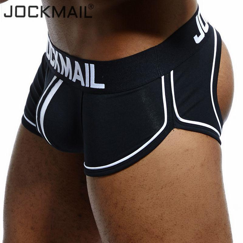 f2bf4c9e025e JOCKMAIL Brand Open Backless Crotch G Strings Men Underwear Sexy Gay Penis  Tanga Short Male Underwear Slip Thongs Jockstrap S1015 Underwear For Women  ...