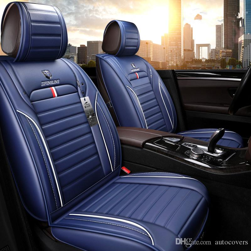Seat Covers For Trucks >> Universal Car Interior Accessories Seat Covers For Trucks Full Surround Design High High Quality Durable Pu Leather Five Seats Trucks Covers