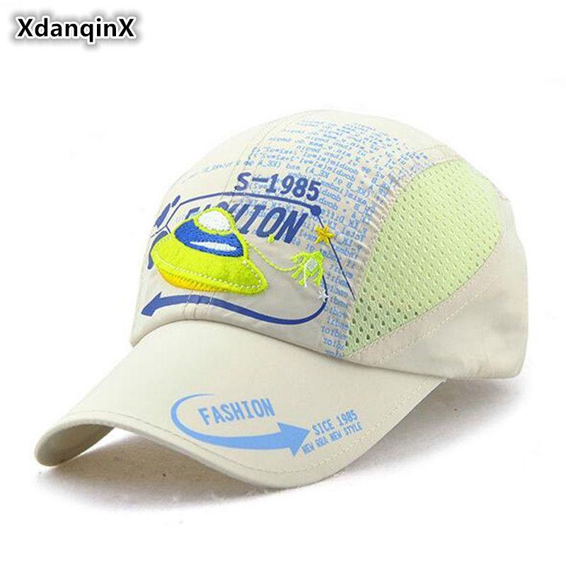 XdanqinX Summer Children s Cute Cartoon Ventilated Mesh Cap Ultra ... f7e414968453