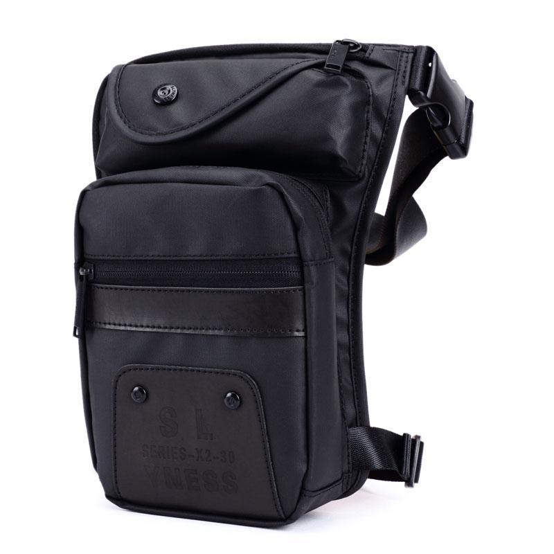 62810b8ed3 Waterproof Nylon Drop Leg Bag Thigh Hip Bum Belt Casual Shoulder Bag Men  Fanny Waist Pack Motorcycle Riding Travel Bags Black Hobo Bags Backpacks  For Girls ...