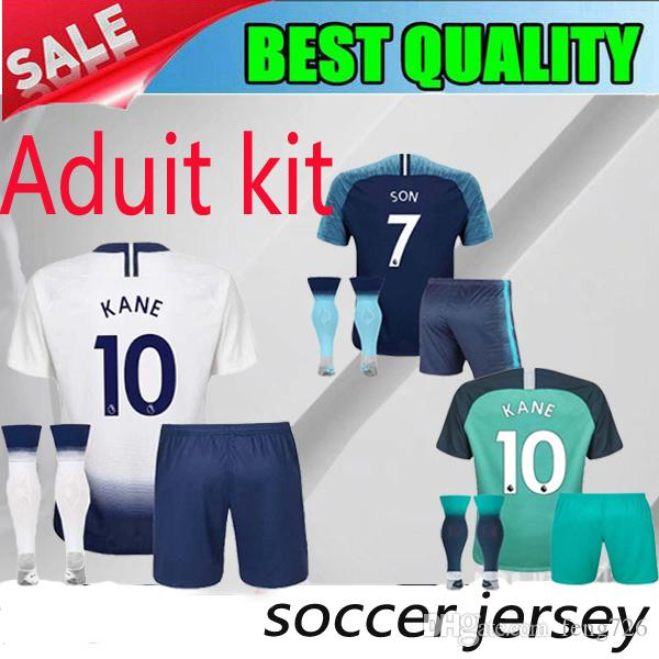 d12c0aa6245 18 19 Thailand Quality Hot Spur The Third Adult Kit Home Away KANE ...