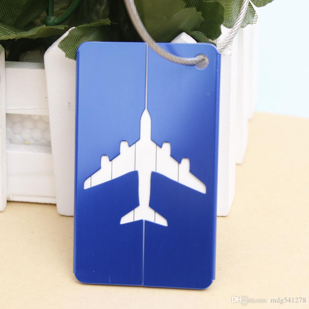 2018 Yeni Luggagebags Sevimli Yenilik Kauçuk Funky Seyahat Bagaj Bavul Bavul Etiketleri Kimlik Adres Adı Bırak Nakliye