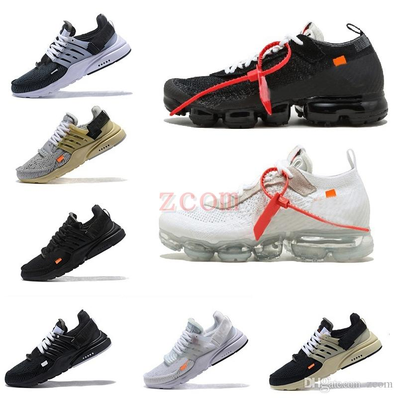 20be3075aaa616 2018 Chaussures 97 New Off Quality 270 Presto Women Mens White Black ...
