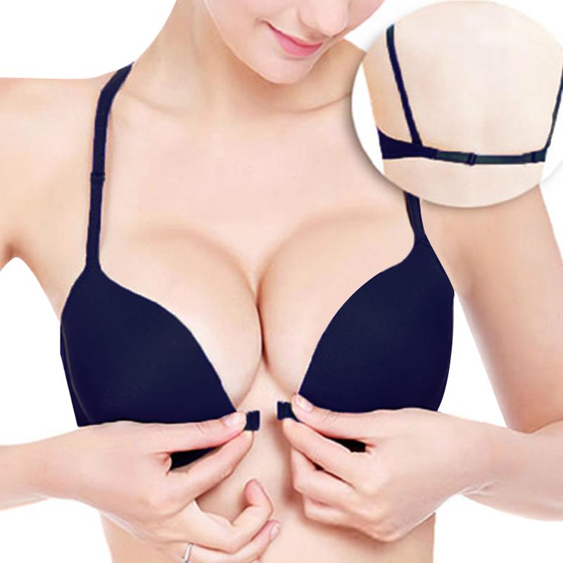c3ef5e799be2d 2019 Super Push Up Bra For Small Breast Young Girls Front Closure Women  Sexy Bra Deep V Brassiere Underwear From Piterr