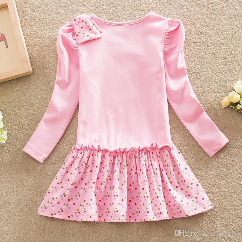 c2ff11336d18 2019 NEAT 2018 Baby Girl Clothes Lovely Pink Pattern Cotton Girl ...