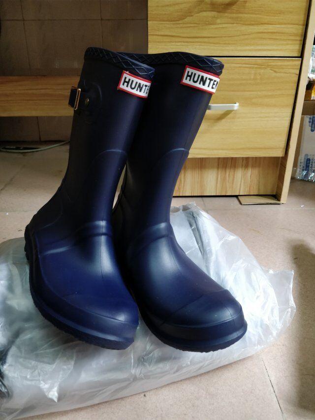 adb1278e936b Ladies Outdoor Rainshoes Fashion Girls Rainboots Mid-calf Low Heels ...