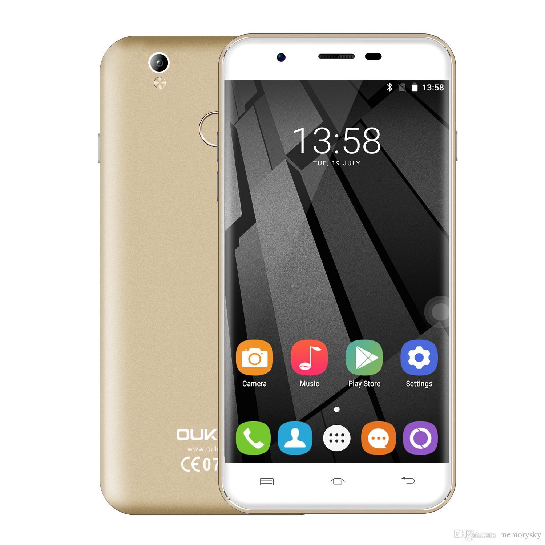 Original OUKITEL U7 Plus 2GB RAM 16GB ROM Android 6 0 MTK6737 Quadcore 8MP 5 5inches 4G LTE Smartphone OUKITEL U7 Plus 4G LTE Android line with