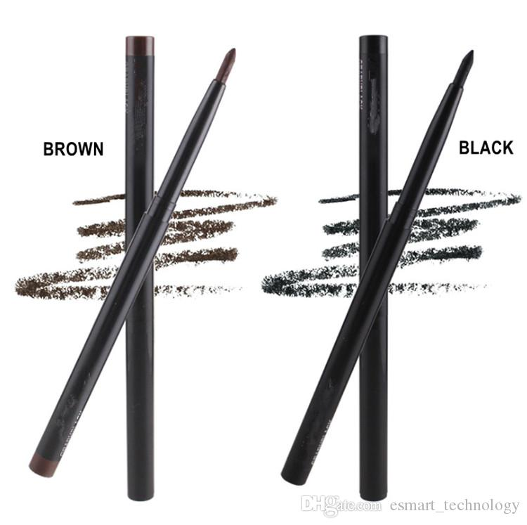 Brand Makeup M Automatic telescopic Eyebrown Pencil Highlighter Waterproof Eye Liner Black and Brown