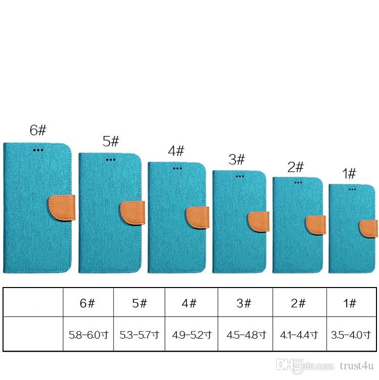 Funda universal con tapa blanda de silicona para folio con tapa blanda de silicona para 6 tamaños diferentes 3.5