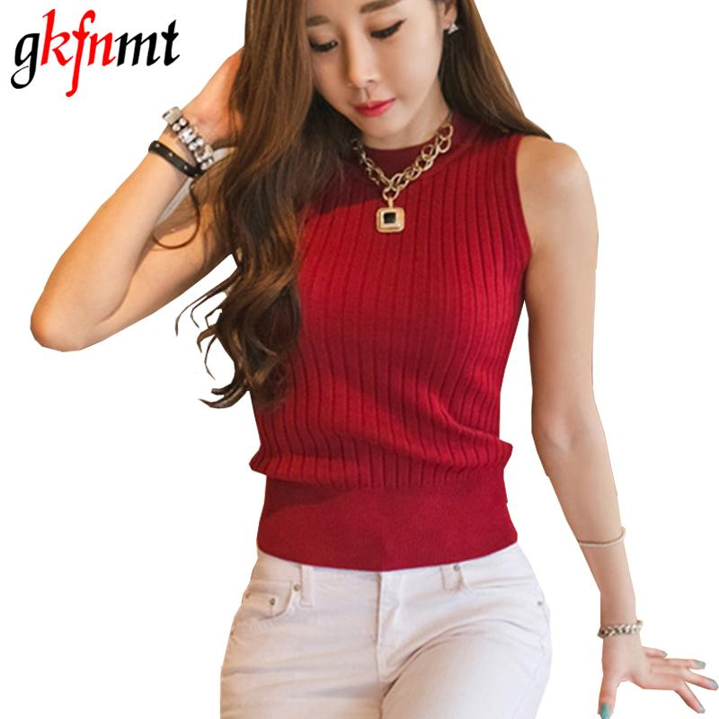 1d80f95f335cb Crop Tops Women 2017 Sexy Top Womens Knitted Blouses Cotton Vest Woman  Clothes Top Debardeur Femme Camisole Crop Top Online with  21.68 Piece on  ...