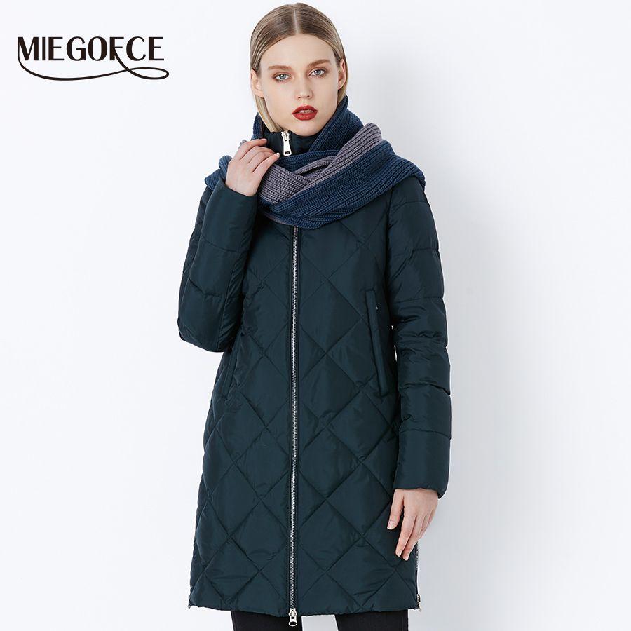 Großhandel 2018 Bio Miegofce Neue Fluff Winterfrauen uZOXPik