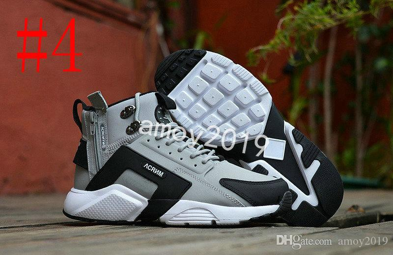 2018 Air Huarache 6 X Acronym City MID Leather High Top Huaraches Mens Trainers Running Shoes Men Huraches Zapatos Hurache Sneakers