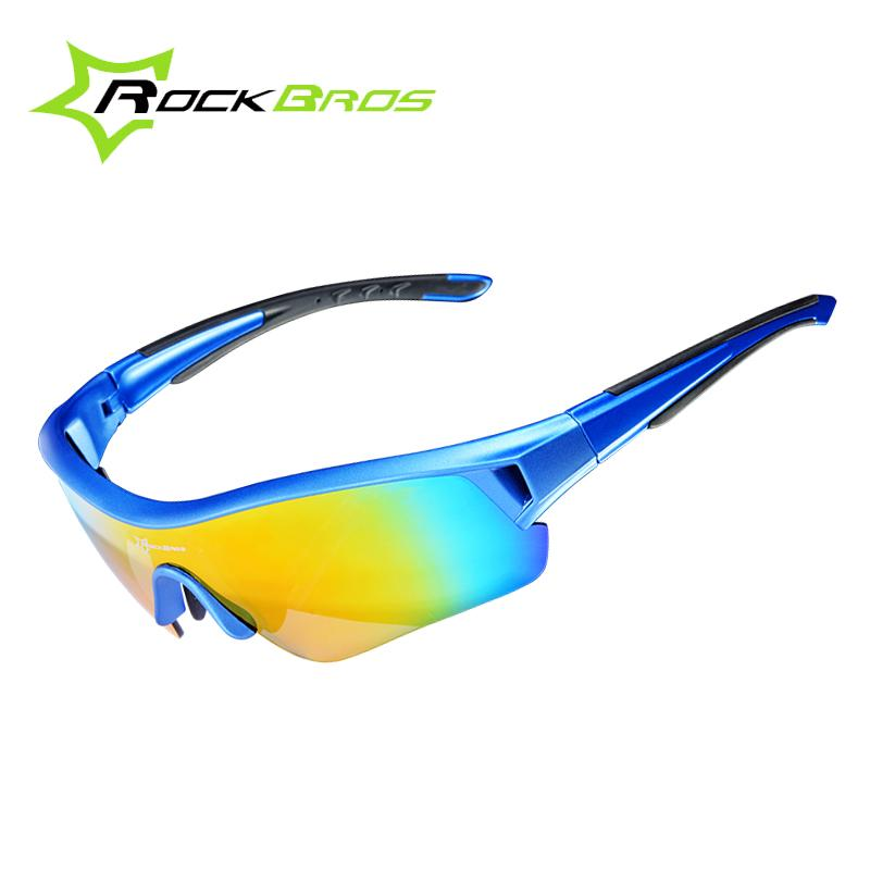 defc699c89f6 ROCKBROS Polarized Cycling Eyewear Sports UV 400 Men   Women Bicycle ...
