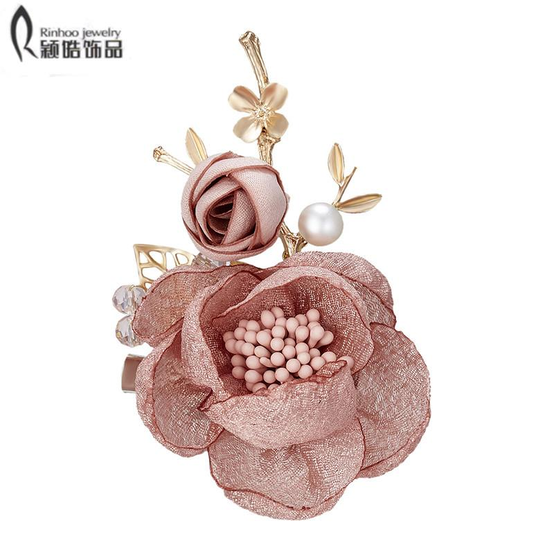 615dc564d76 2019 Elegant Tulip Flower Brooch Pin Crystal Costume Jewelry Clothes  Accessories Jewelry Brooches For Wedding From Uline
