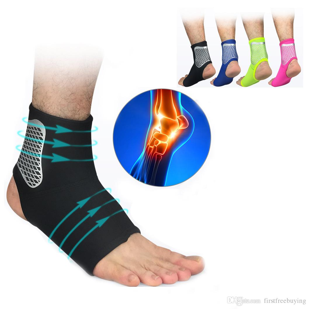 Sports Safety Breathable Foot Bandage Strap Ankle Supports 1 Piece Compression Sports Running Basketball Ankle Protectors Easy To Use